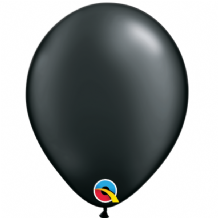 "Pearl Black 5 inch Balloons - Qualatex 5"" Balloons 100pcs"